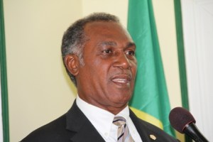 : Premier of Nevis and Minister of Finance Hon. Vance Amory