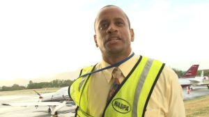 Stephen Hanley, Manager of the Vance W. Amory International Airport