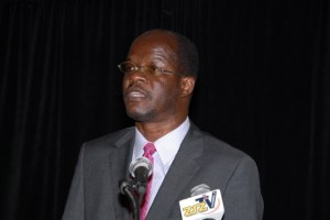 Minister of Foreign Affairs, the Hon. Patrice Nisbett