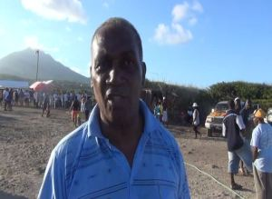 Premier of Nevis and Area Representative for the St. George's Parish where the Hanley's Road Fisherfolk Association held its inaugural Fishing Tournament and Family Fun Day as part of Agriculture Awareness Month from May 01, at the Indian Castle Beach on May 05, 2014