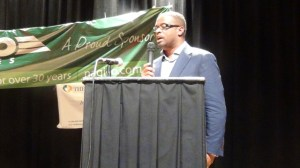 Minister of Sports on Nevis and Deputy Premier, Hon. Mark Brantley