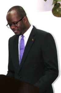St. Kitts and Nevis' Minister of Foreign Affairs, Hon. Patrice Nisbett