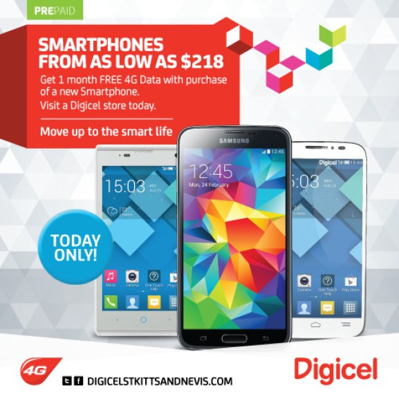 Digicel SKN Smartphone Sale Today Only