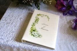 Condolence book