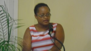Azilla Clarke-Director -Social Services-St.Kitts