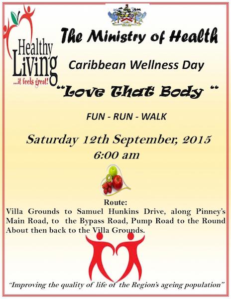 Caribbean Wellness Day Walk poster copy 2