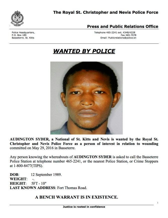Wanted Audington Syder copy