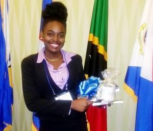 St. Kitts Junior Minister Dahneira Hodge