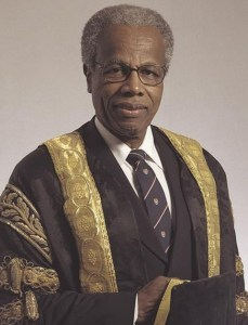 Sir George Alleyne, Chancellor of UWI