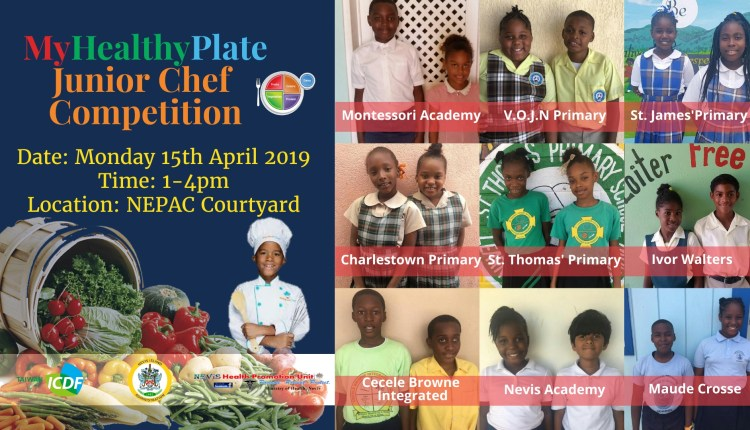Junior Chef Competition 9 schools
