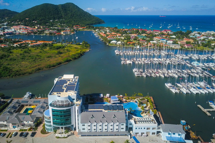 saint lucia records over