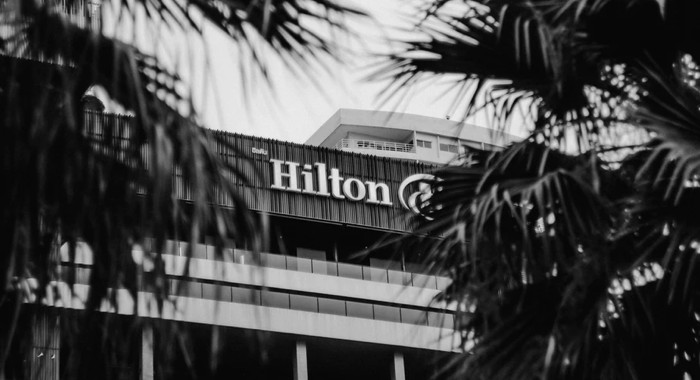 Unnamed Hilton hotel - Unsplash