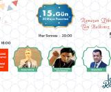 Ramazan Etkinliklerinde Bu Akşam İlahi Konseri ve Kum Sanatı Gösterisi Var