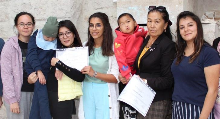 Kapadokya Engelli Yetenekler Derneği projesi ile büyük ilgi topluyor