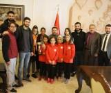 Başkan Arı, Türkiye ve dünya dereceleri elde eden sporcuları tebrik etti