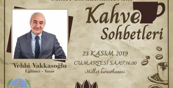 Ünlü Yazar Vakkasoğlu Nevşehir'e geliyor