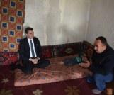 Acıgöl Kaymakamı Koyuncu, Ağıllı köyünde  aile ziyaretinde
