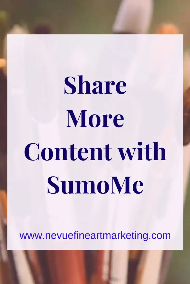 Share More Content with SumoMe plugin for WordPress. Make it easy for your readers to share your content.