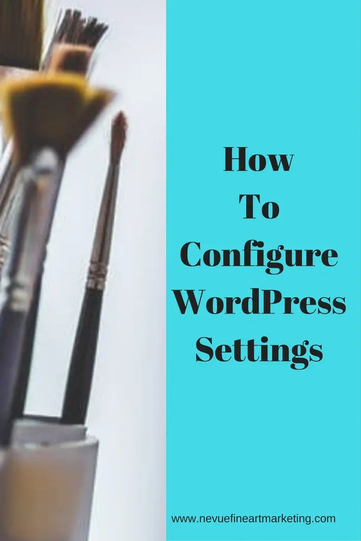 Are you excited about your new art blog? In this post, you will discover how to configure WordPress Settings step by step so you can get the most out of WordPress.