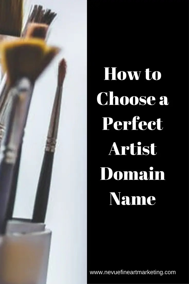 What is a domain name? In this post, I am going to go over some helpful tips so you can choose your perfect artist domain name.