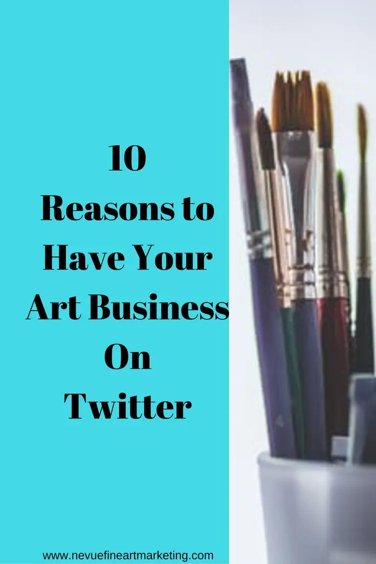 Are you feeling overwhelmed with all of the social media networks? Does it seem like every time you turn on the computer you read about the next best social media site to promote your artwork? Social media is a great way to build your business if it is done the correct way. In this post, you will discover why you might want to have your art business on Twitter.