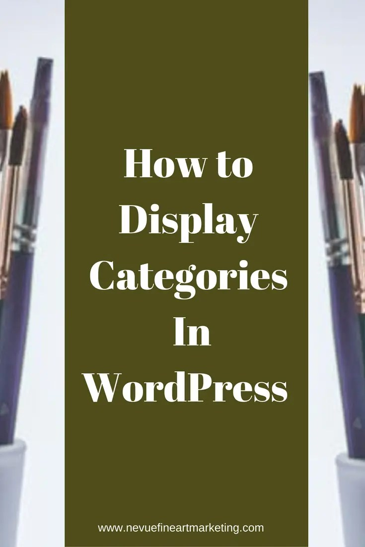 Are you wondering how you can display categories in WordPress? In this post, I am going to show you two different ways that you display categories in your WordPress art blog so your readers will stay on your site longer.