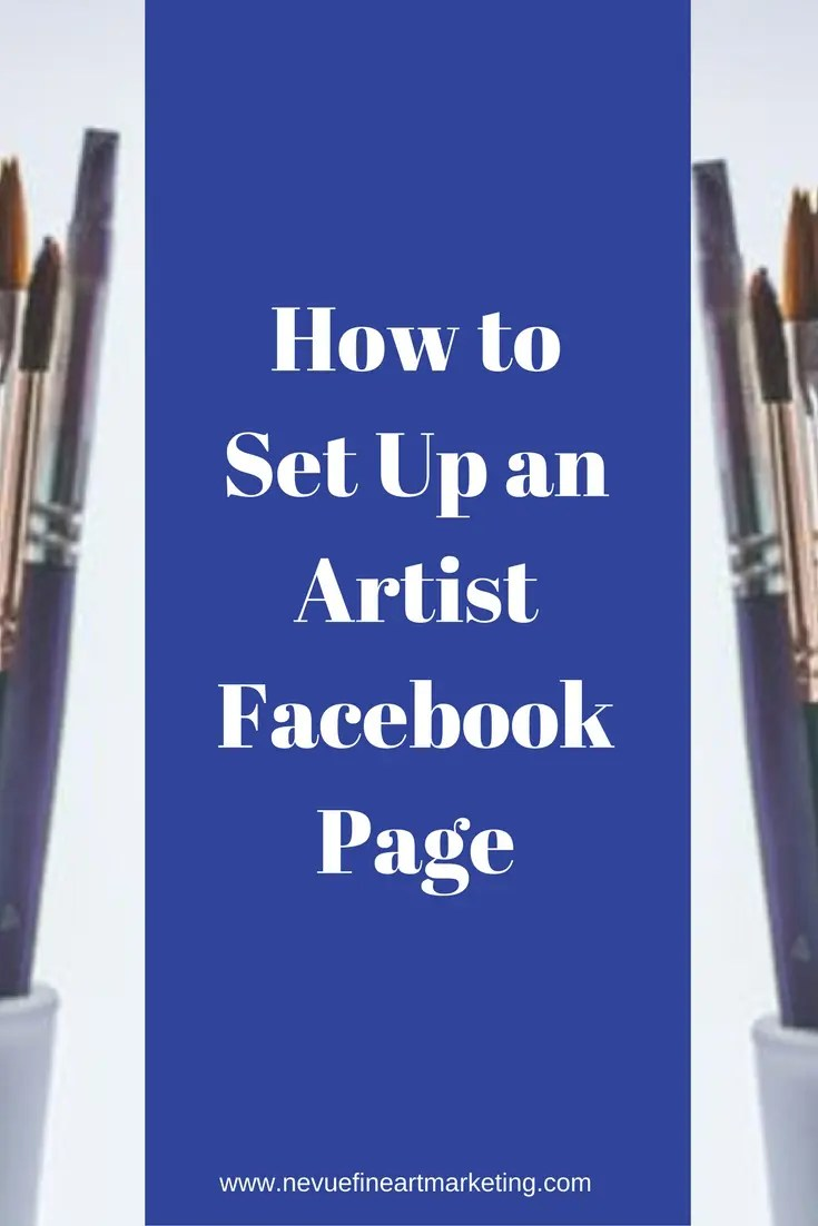 Are you ready to start your artist Facebook page and start driving traffic to your blog? How to set up an artist Facebook Page.