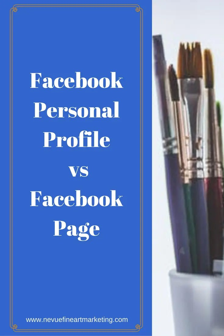 There is no question that Facebook is a powerful social media network. Many businesses have been building their brand and customer base with Facebook. In this post, you will discover the truth about a popular topic, Facebook Personal Profile vs Facebook Page for artists.