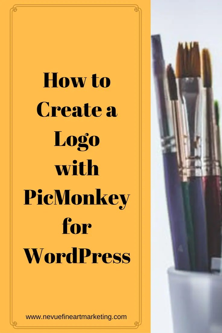 Are you ready to brand your blog with your logo? In this article, you will discover how to create a logo using PicMonkey, a free online image editor for your artist blog.