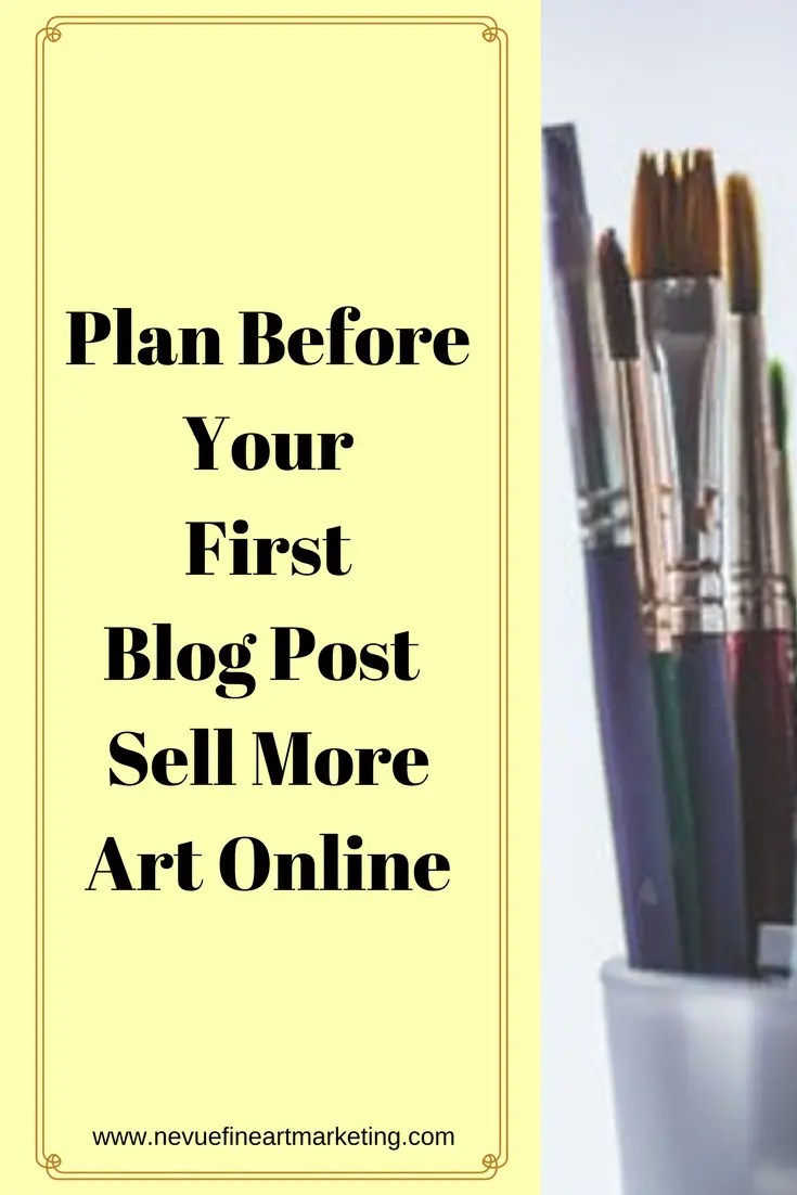 Most artists who start an artist blog jump right in and start to write. They do not have a plan or even know what their platform has to offer. In the long run, this becomes a problem. In this article, you will discover how to design a plan before your first blog post.