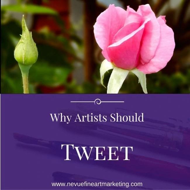Why Artists Should Tweet