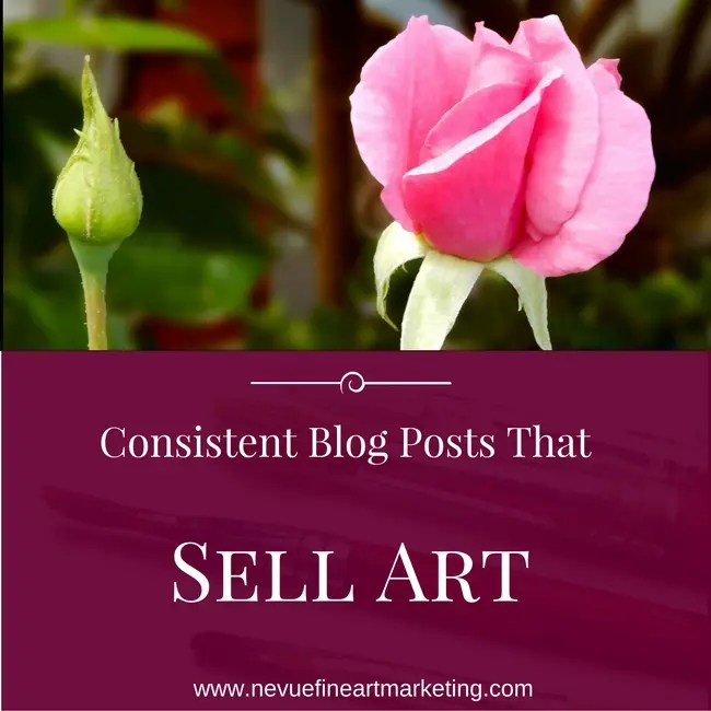 Artist Blog Checklist - Consistent Blog Posts That Sell Art
