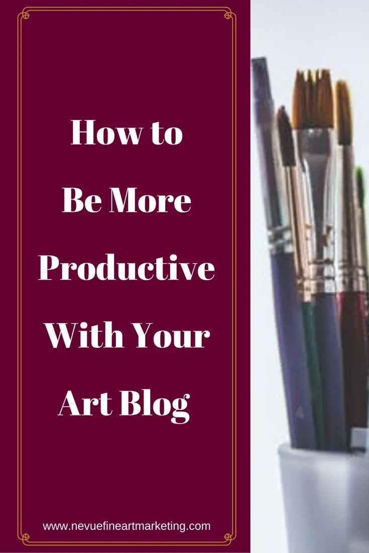 Do you find it difficult to accomplish everything on your to-do list? Even with a set schedule, you still might find it impossible to finish certain projects. In this post, you will discover helpful tips that will help you be more productive with your art blog.