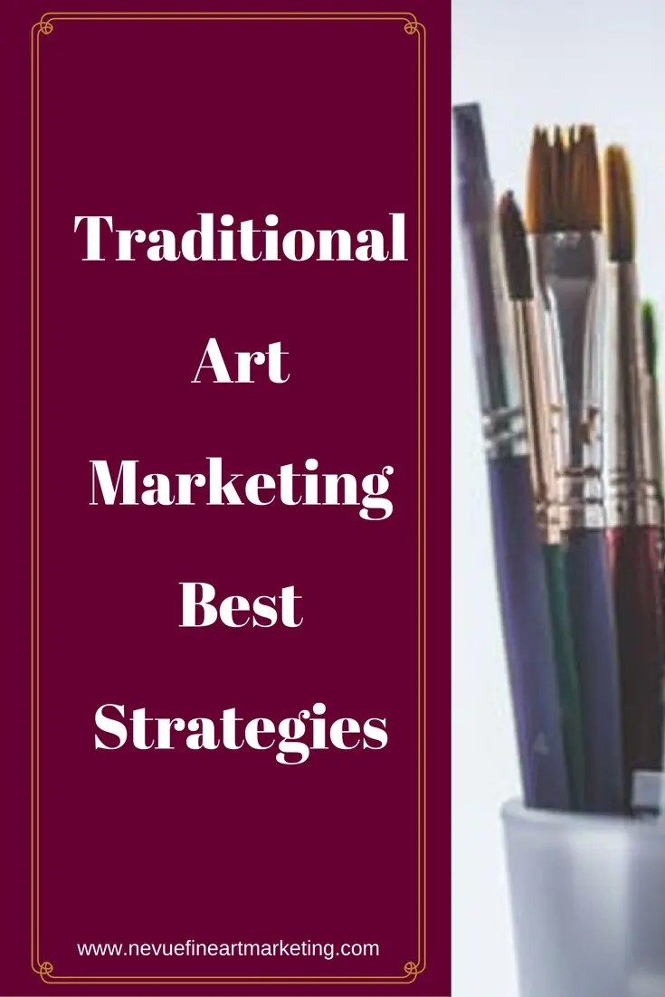 Are you trying to find different ways to build your art business? In this post, you will discover traditional art marketing best strategies for brand awareness.