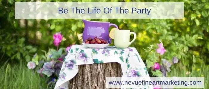 Social Media Engagement Strategy - Nevue Fine Art Marketing