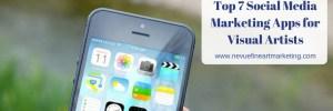 Top 7 Social Media Marketing Apps for Visual Artists