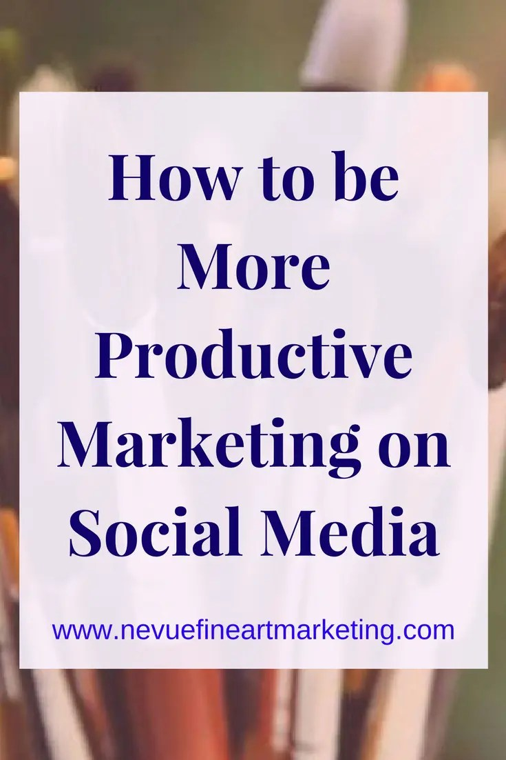 How to be More Productive Marketing on Social Media. Discover how to be more productive on social media.