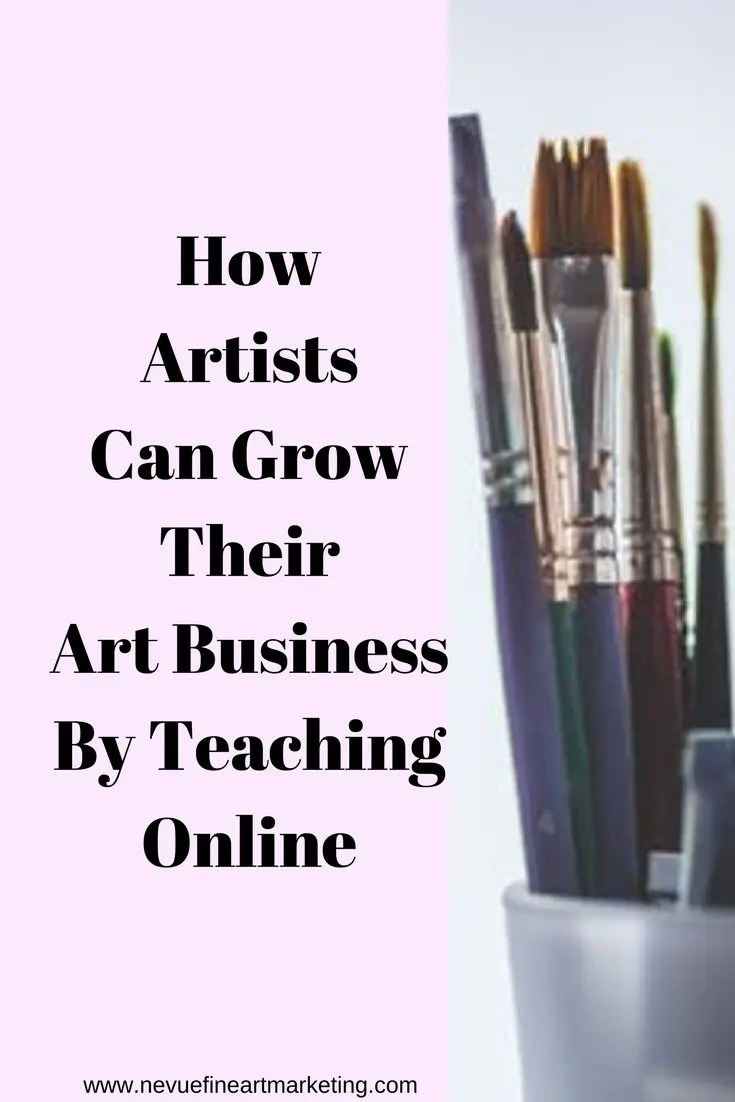 Would you like to take your art business to the next level? In this post, discover how artists can grow their art business by teaching online.