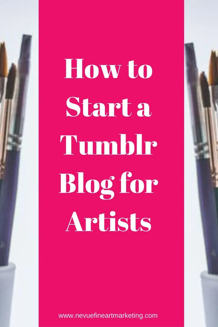 Are you thinking about starting an art blog but you are not sure how to start? There are many options available for you but in this post, I would like to talk about how to start a Tumblr blog for artists selling art.