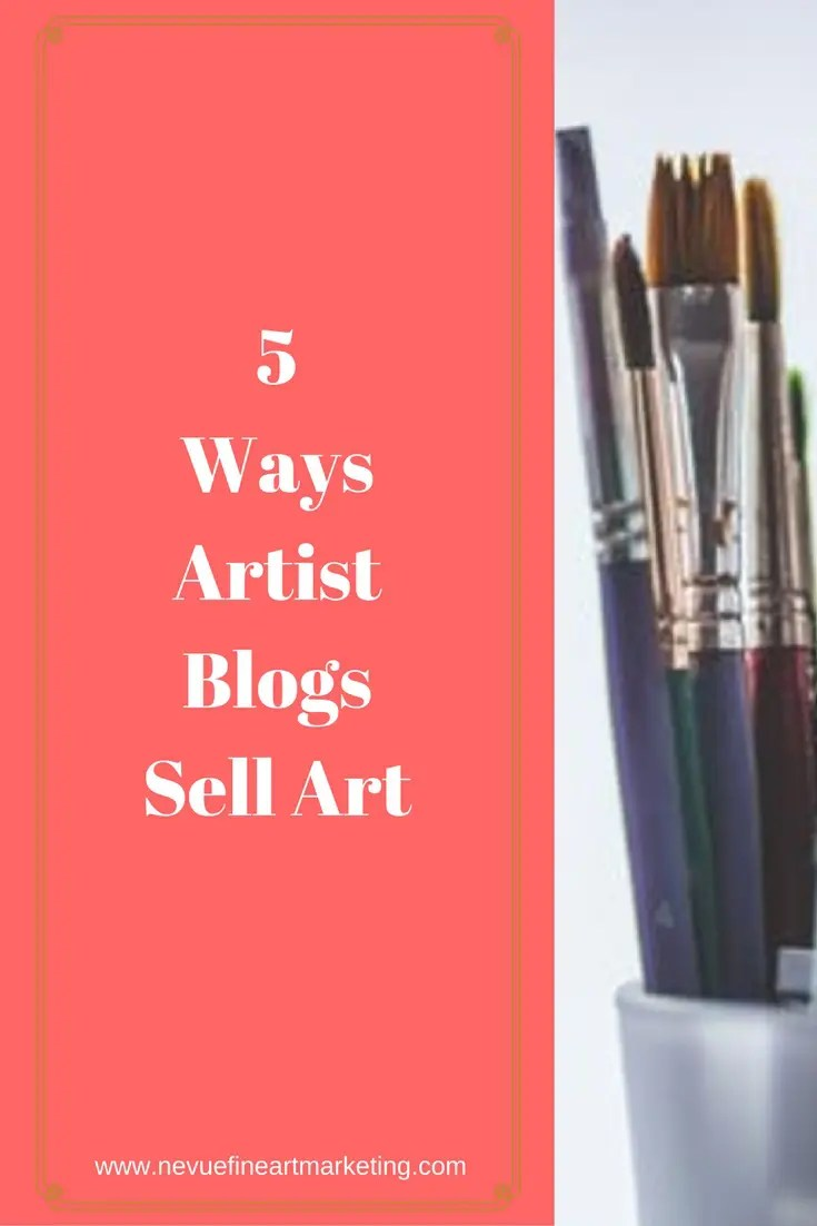 Are you interested in selling your artwork? Are you confused on how to get started?In this post, you will discover ways artist blogs sell art.