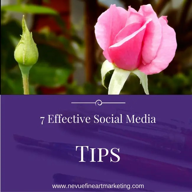 7 Effective Social Media Tips for Growing Your Artist Brand