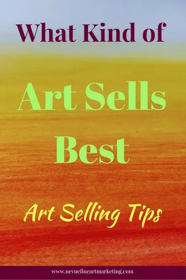 Are you finding it difficult to sell your art online? Are you concerned about what art sells best? In this post, you will discover what kind of art sells best and why it doesn't matter. I will also share with you some art selling tips that will help you to increase your art sales.