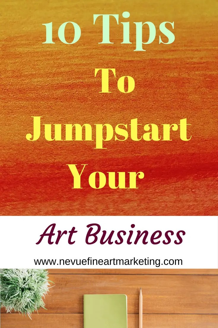 Are you finding it difficult to break through your plateaus?Are your online art sales flat? In this post, I am going to share with you 10 tips to jumpstart your art business this year so you can see continued growth.