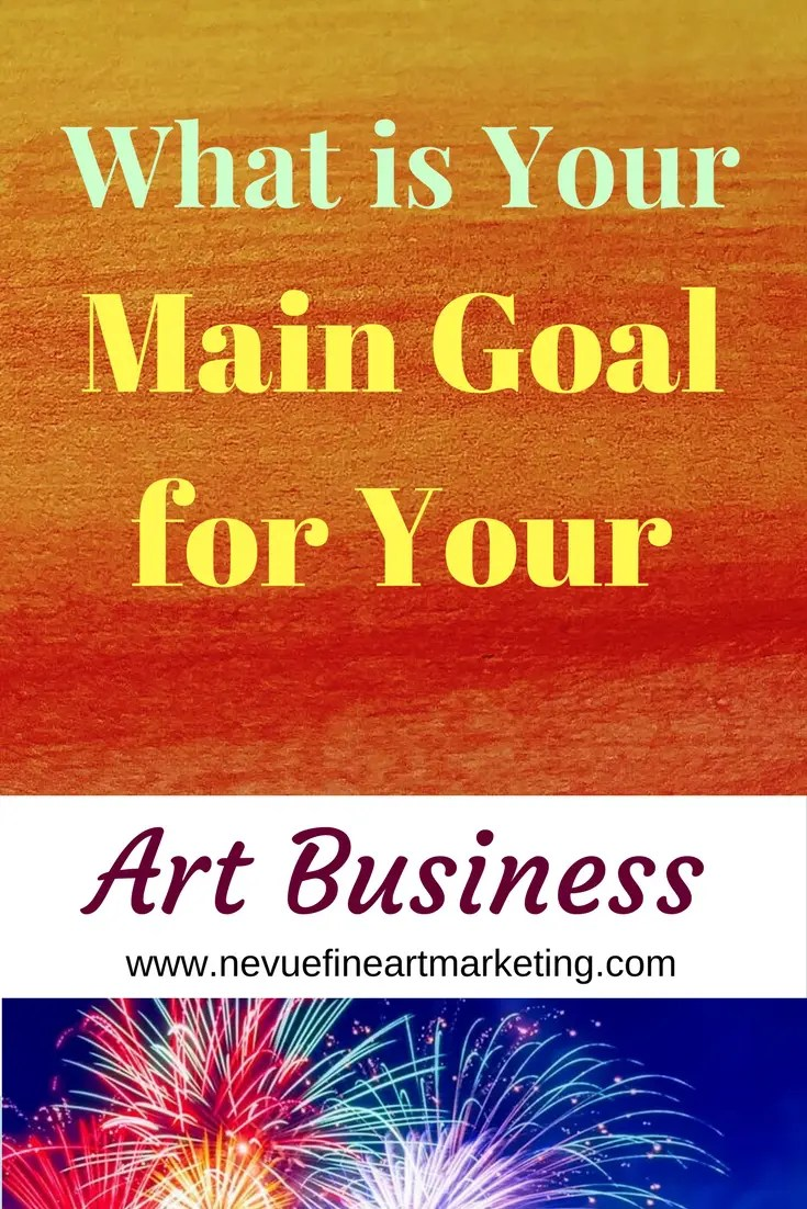 Were you happy will the sales you generated last year? What is your main goal for your art business this year? The New Year brings a new beginning. You have a blank slate to work with.
