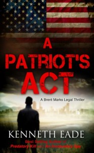A Patriot's Act Book Cover