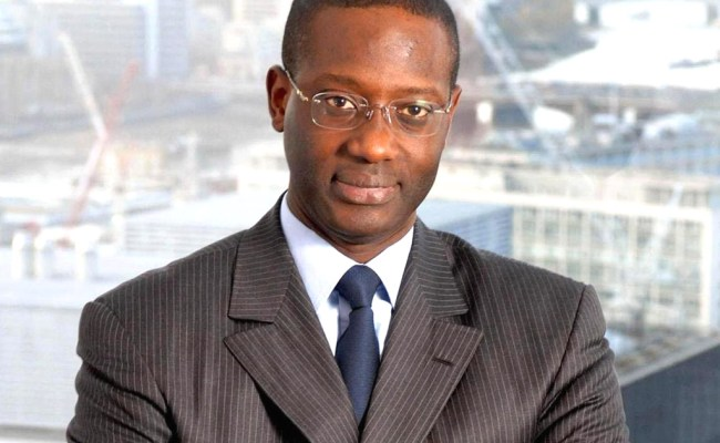 Profile Tidjane Thiam Newly Appointed Ceo Of Credit