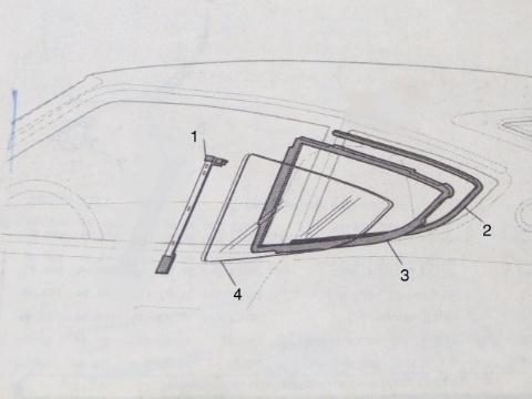 Datsun 240Z Parts, Rubber Parts, Page One