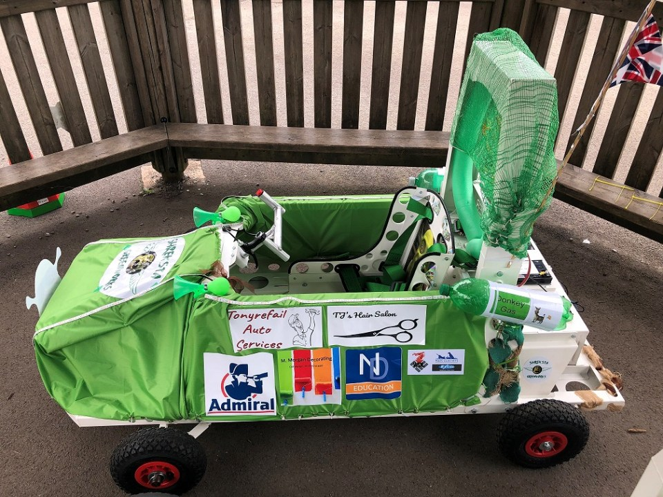 Cwmlai Primary School Greenpower race car project