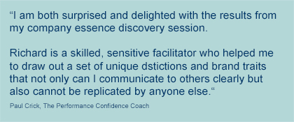 New Edge testimonial from Paul Crick, performance coach