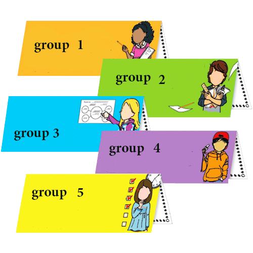 العمل في مجموعات   (2)